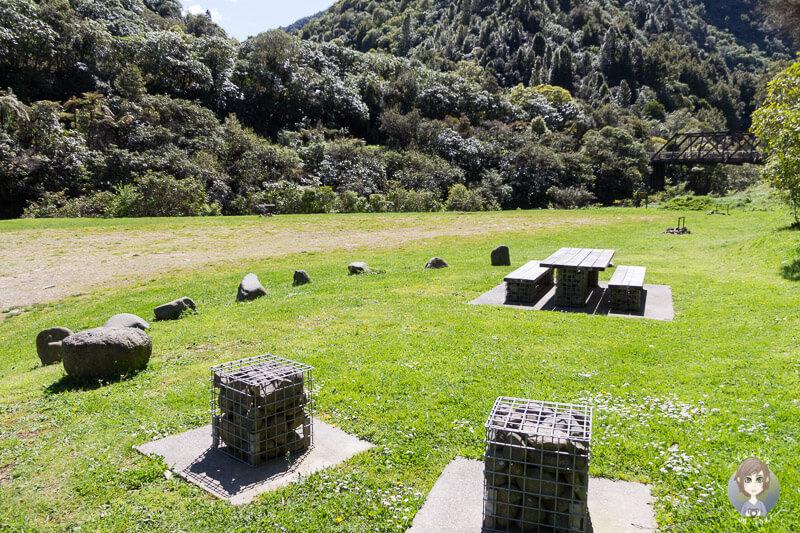 Camping im Waioeka Gorge Scenic Reserve