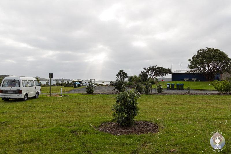 Campingplatz Pine Beach, Region Northland, Neuseeland