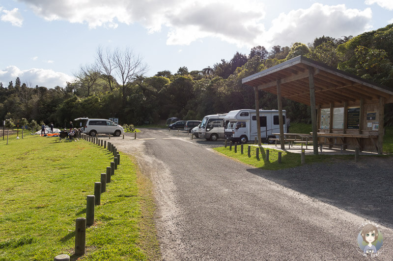 Campingplatz am Lake Okareka, Neuseeland Nordinsel