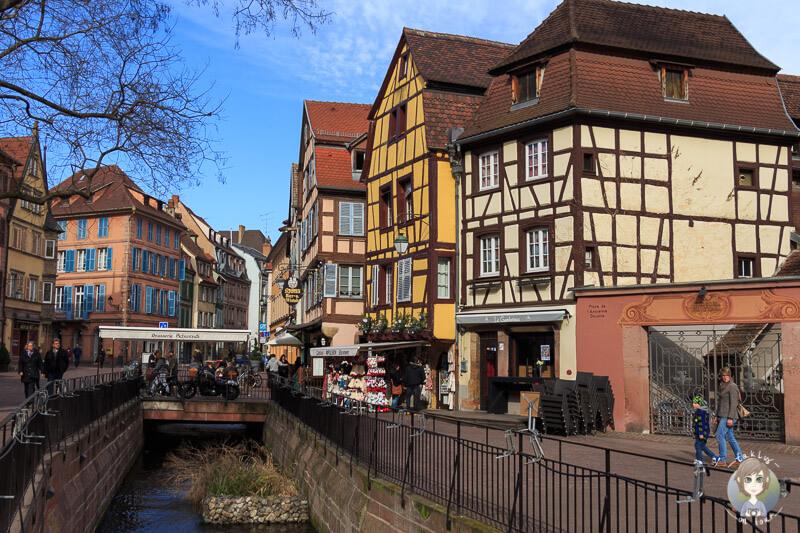 Das wunderschöne Städtchen Colmar in Frankreich
