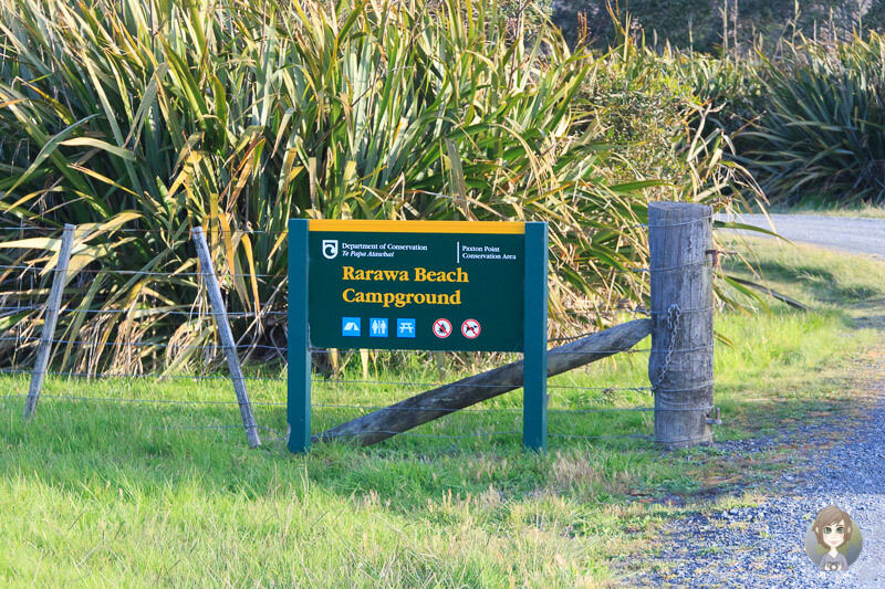DOC Rarawa Beach Campground, Neuseeland