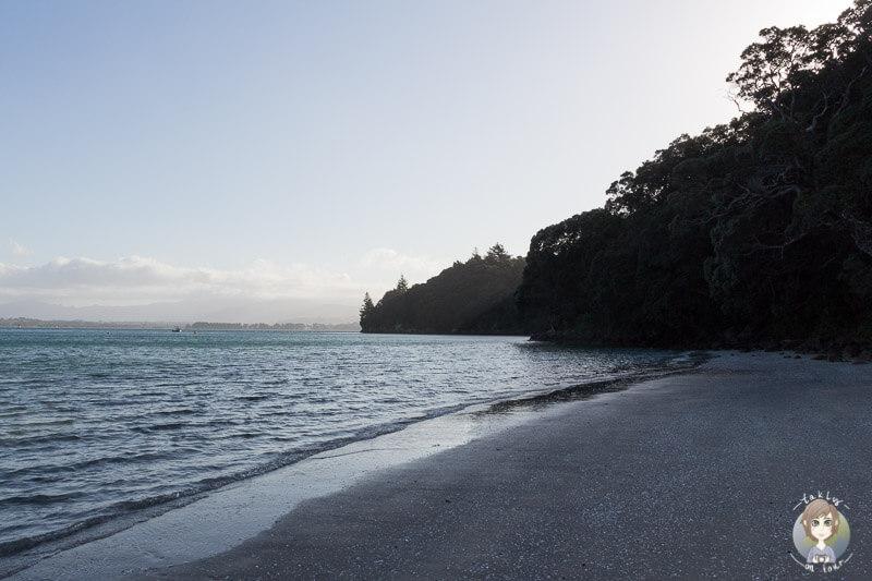 Die Anzac Bay nahe Waihi Beach, Neuseeland