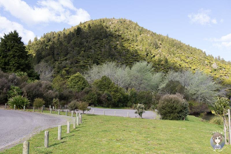 Lake Okareka DOC Campingplatz, Neuseeland