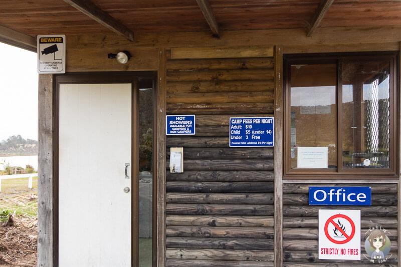 Office am Lake Taharoa