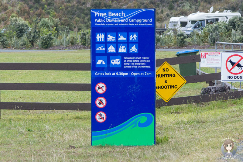 Pine Beach Campground, Neuseeland