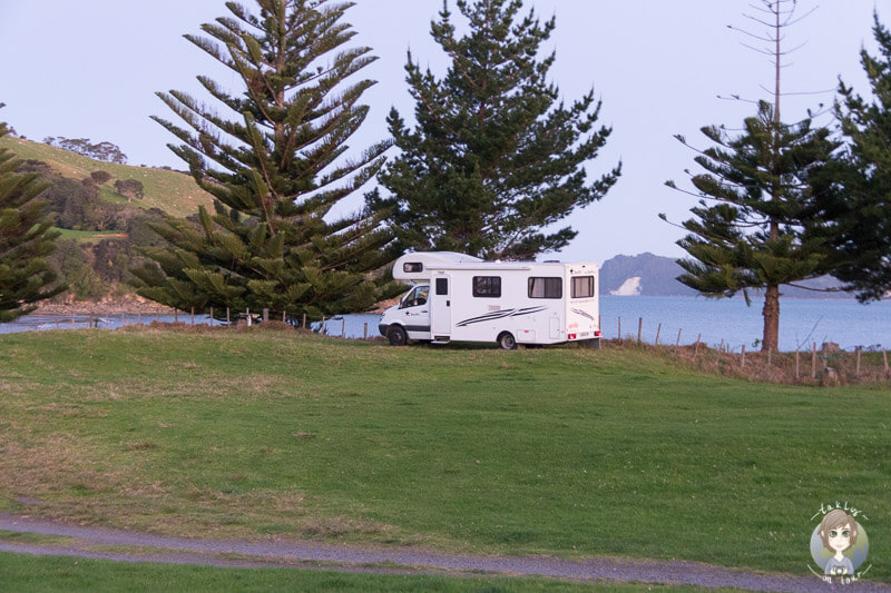 Simpsons Beach Camp in Waikato, Neuseeland