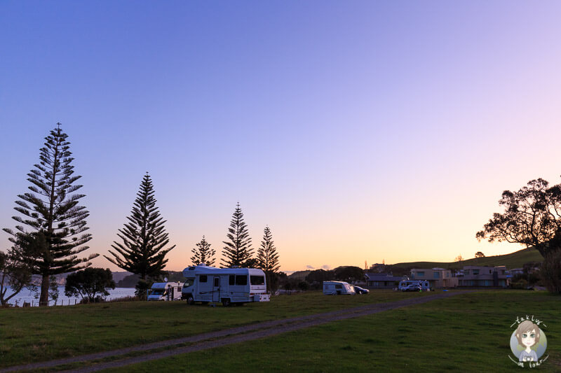 Simpsons Beach Campground, Neuseeland
