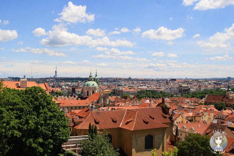 Ein toller Aussichtspunkt in Prag, Tschechien