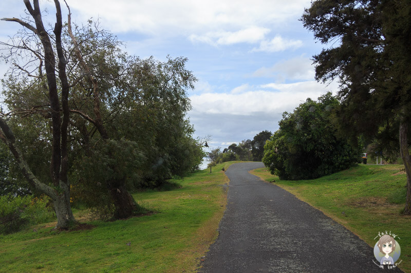 Übernachtung am Lake Taupo