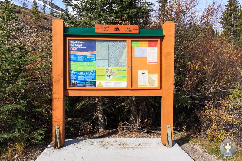 Nigel Pass - Wandern auf dem Icefields Parkway in Kanada