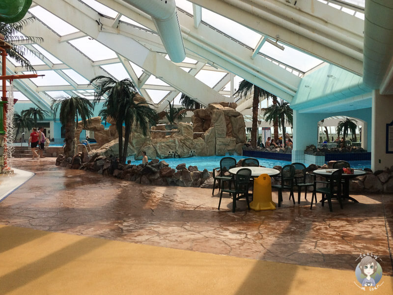 Der Aquadome im Lalandia Rødby, Dänemark