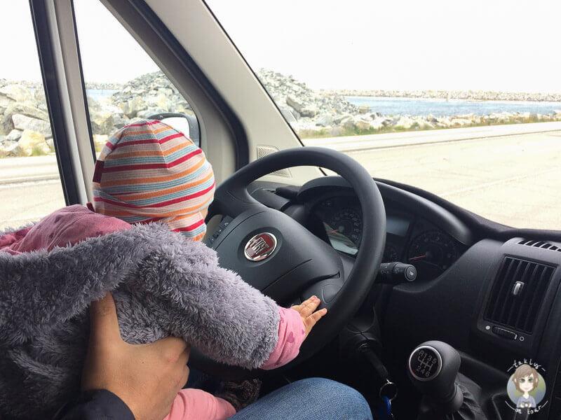 Camping Baby auf Elternzeitreise