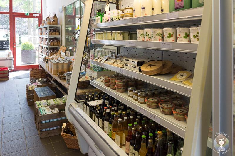 Bauernladen Knuthenlund in Dänemark