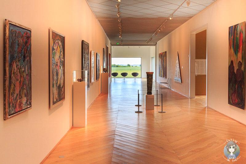 Das Fuglsang Kunstmuseum in Dänemark