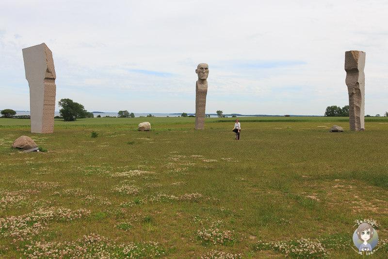 Das singende Denkmal Dodekalitten, Dänemark