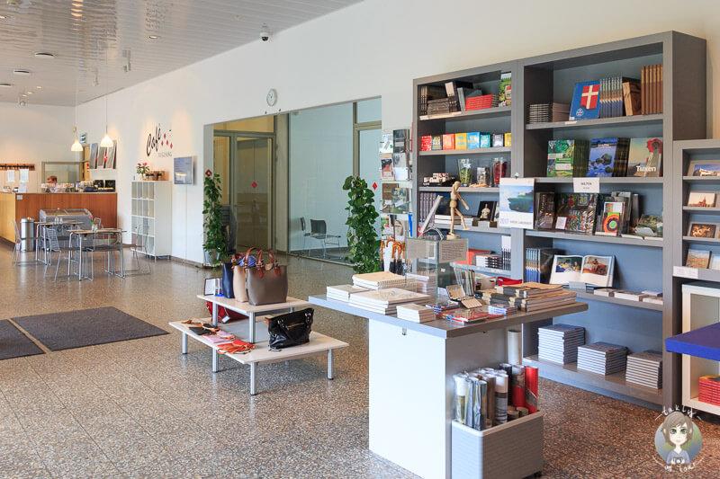 Der Eingangsbereich des Fuglsang Kunstmuseums