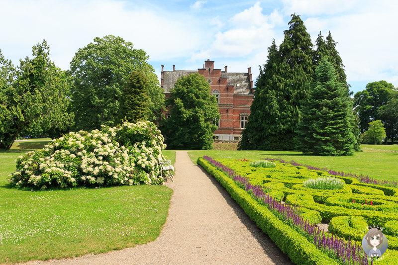 Der schöne Fuglsang Schlossgarten