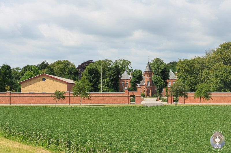 Ein Schloss am Wegesrand in Lolland