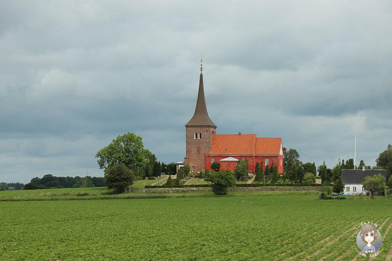 Eine schöne Kirche in Lolland