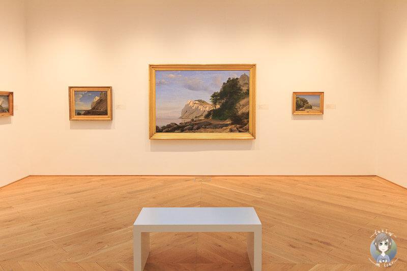 Gemälde im Fuglsang Kunstmuseum
