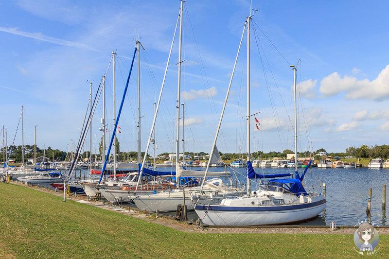 Hafen von Nakskov, Dänemark