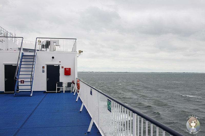 Mit der Fähre nach Dänemark