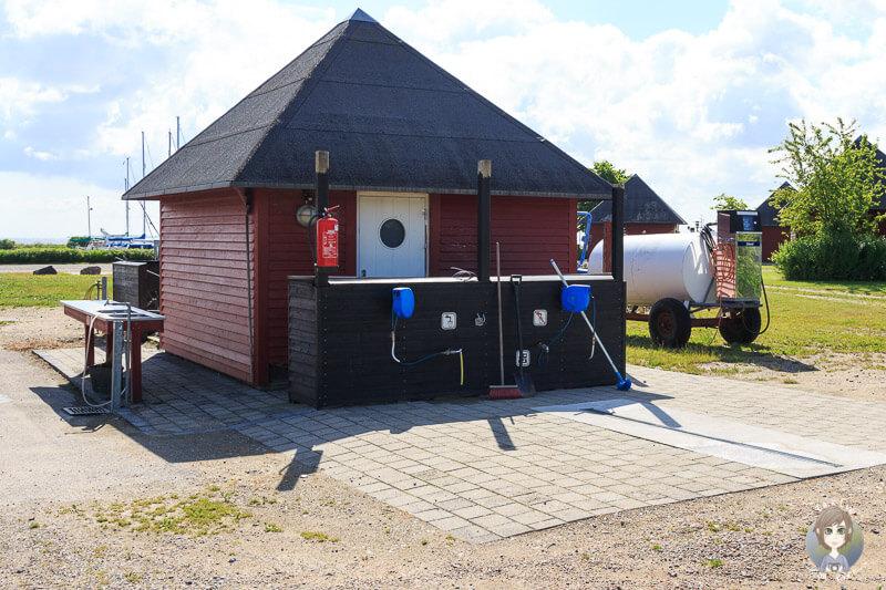 Ausstattung auf dem KragenæsLystcamping, Dänemark