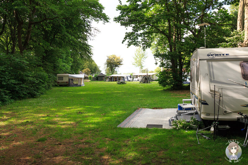 Camping in Nysted in Dänemark