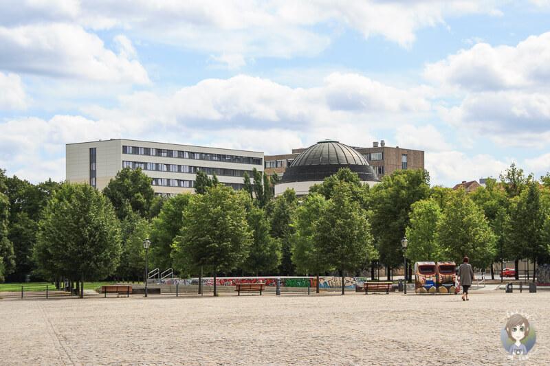 Der Bassinplatz in Potsdam, Deutschland
