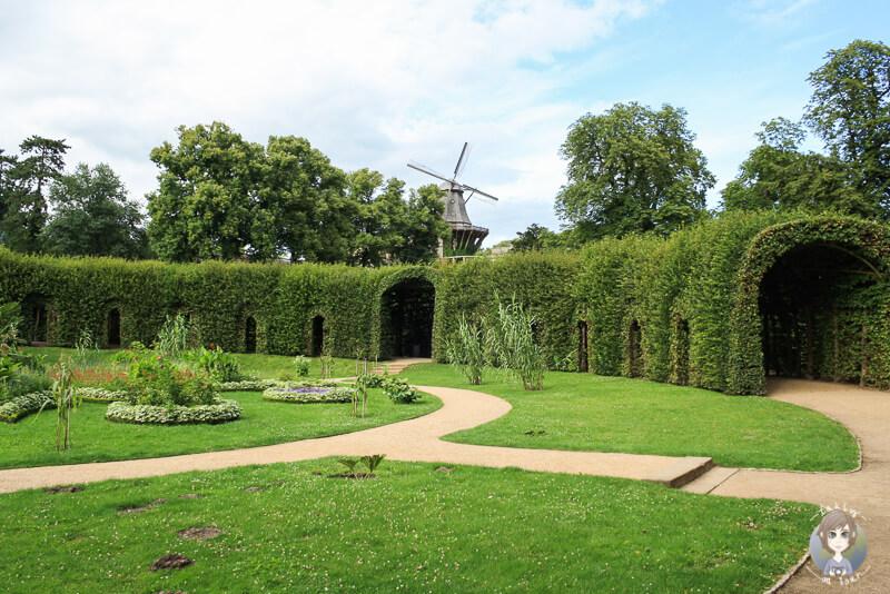 Der Sizilianische Garten am Schloss Sanssouci in Potsdam