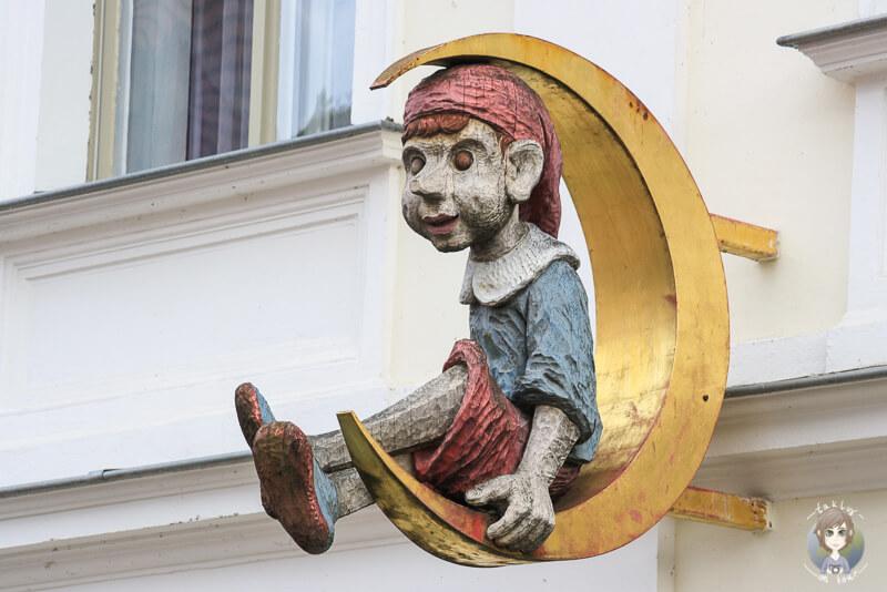 Hübsche Details in der Innenstadt von Potsdam