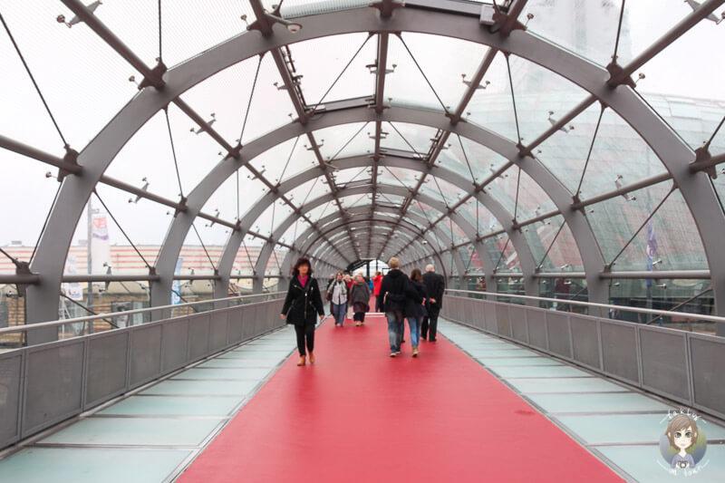 Eingangsbereich vom Klimahaus in Bremerhaven