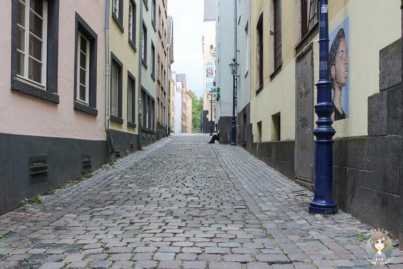 Gassen in der Altstadt von Köln