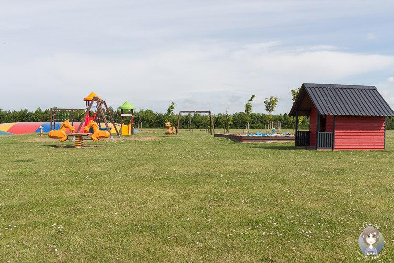 Großer Spielplatz auf dem Nakskov Fjord Camping