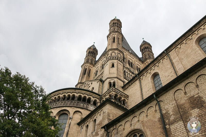 Gross St Martin eine der Sehenswürdigkeiten von Köln