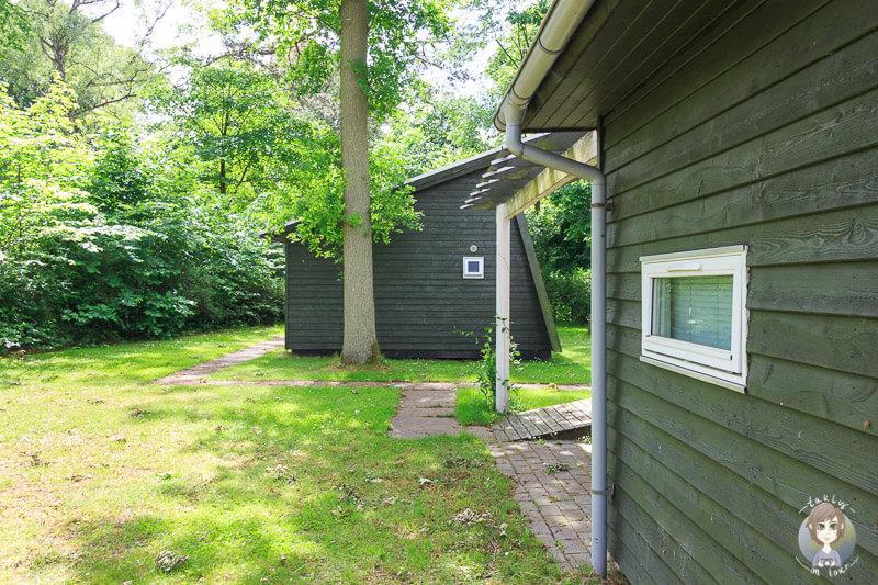 Hütten auf einem Campingplatz in Nysted