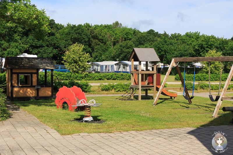 Kinderspielplatz Kragenæs Marina Lystcamp