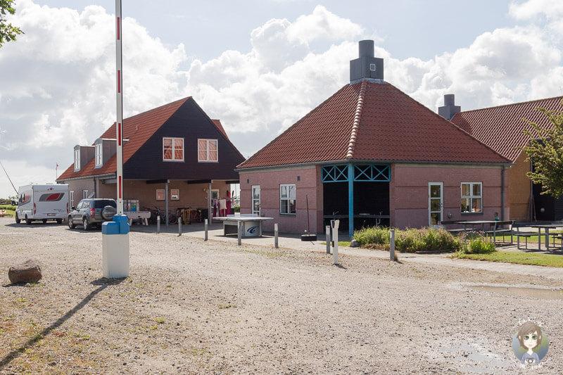 KragenæsLystcamping Eingang