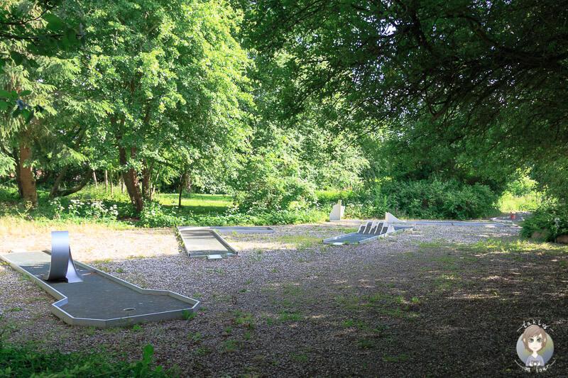 Minigolf auf dem Guldborg Camping