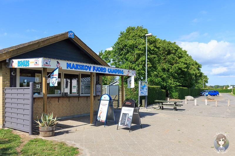 Nakskov Fjprd Camping in Lolland, Dänemark