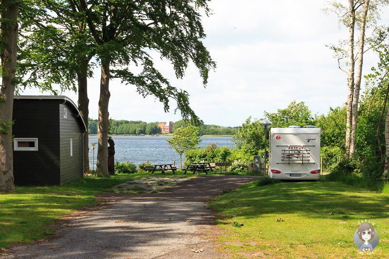 Nysted Strand Camping in Lolland, Dänemark