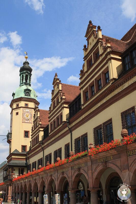 Old City Hall Das alte Rathaus in Leipzig
