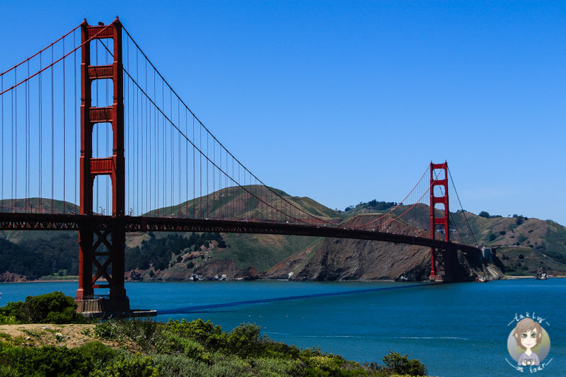 Die Golden Gate Bridge in San Francisco Tipps zur Reise