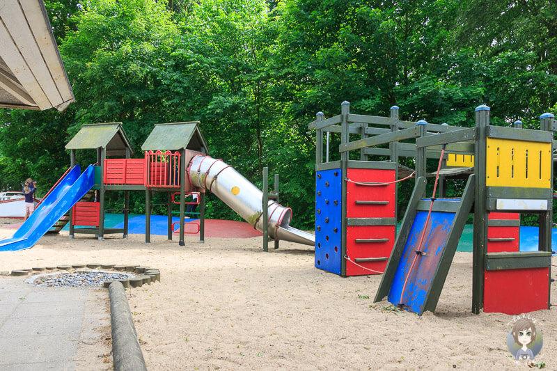 Kinderspielplatz auf dem Nysted Strand Camping