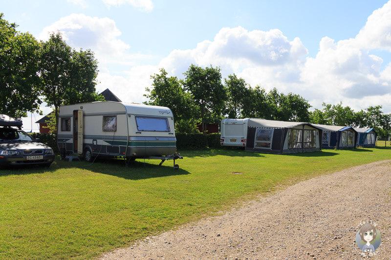 Stellplätze Kragenæs Campingplatz