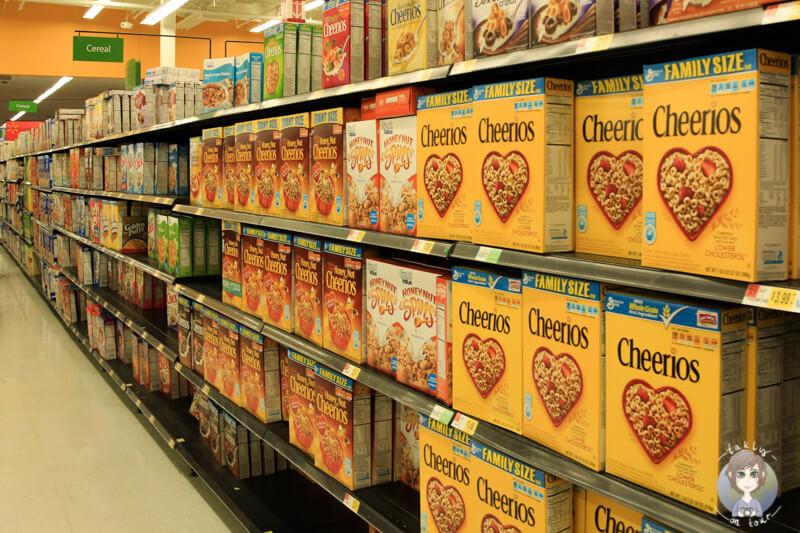Supermarkt in Amerika
