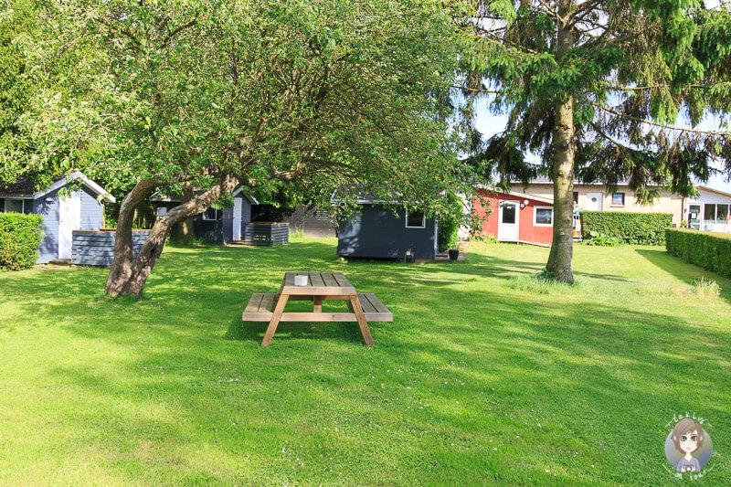 Viele Campinghütten in Guldborg