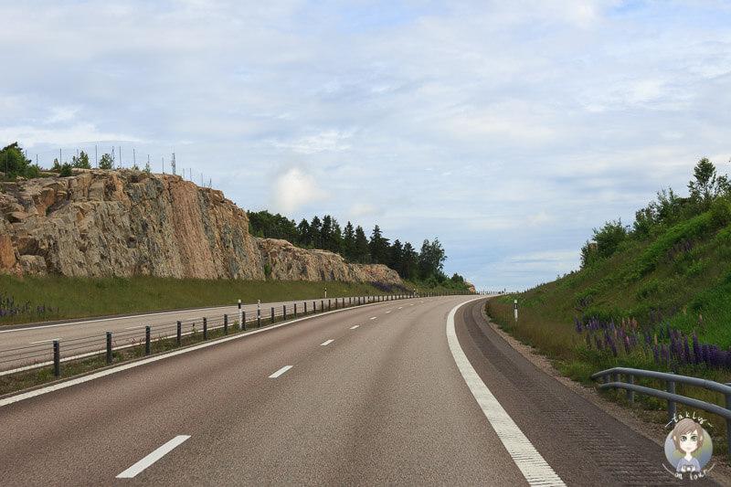 E6 Richtung Norwegen