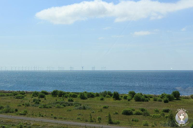 Künstlich angelegte Insel Peberholm, Dänemark