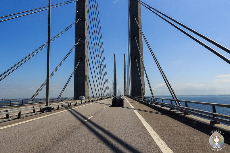 Öresundbrücke zwischen Kopenhagen und Malmö